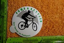 Age Sticker Bicycle Sport Bike Puma & Kettler partner in Cycling