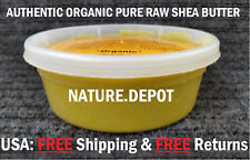AUTHENTIC Raw African Yellow Shea Butter Pure Natura Unrefined Organic 1/2Lb/8oz
