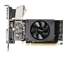GIGABYTE NVIDIA GeForce GT 710 1gb PCIe Video Card Ddr3 HDMI DVI VGA L