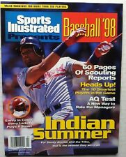 1998 Sports Illustrated PRESENTS BASEBALL SANDY ALOMAR COVER CLEVELAND INDIANS