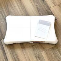 Nintendo Wii Balance Board RVL-021 w/ Manual Tested/Working - Very Clean!