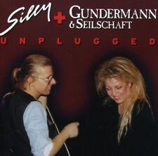 """SILLY & GUNDERMANN & SEILSCHAFT """"UNPLUGGED"""" 2 CD NEU"""