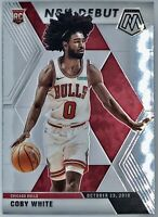 2019-20 Panini Prizm Mosaic Coby White Rookie Card RC NBA Debut Chicago Bulls 🔥