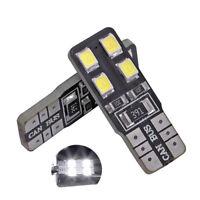 2 ampoules à LED w5w T10 Blanc pour plafonnier coffre boîte à gant pieds porte