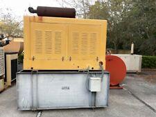 Onan 50 Kw Diesel Generator Set With2082 Hours 400 Gallon Dw Base Fuel Tank