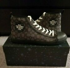Coach Star Wars May The Force Be With You High Top Sneakers Shoes New In Box