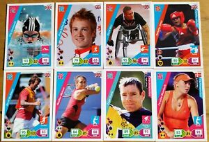Official London 2012 Adrenalyn XL 8 Different Trading Cards Inc. Beckham