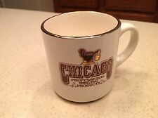 Vintage Shaving Mug Chicago Professional Shaving Products Gold Accent W/ Lather