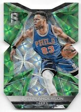 16/17 Panini Spectra Neon Green Die Cut #56 Justin Anderson #06/25