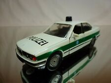 SCHABAK 1150 BMW 535i E39 - POLIZEI POLICE - WHITE 1:43 - GOOD CONDITION