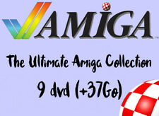 The Ultimate Amiga Collection - 9 DVD- Commodore A1200 A500 A600 CD32 GOTEK ADF