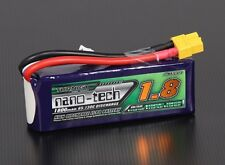 Turnigy nano-tech 1800mAh 3S 11.1v 65-130C High Discharge Lipo Battery Pack