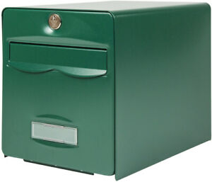 Boîte aux lettres BALthazar, 1 porte, vert