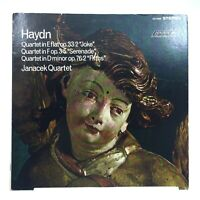 LONDON CS 6385  Haydn Quartet  Joke & Serenade & Fifths  Janacek Quartet
