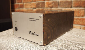 TUBE PHONO STAGE RIAA FOR MM TURNTABLE ORPHEUS. HAND MADE FROM RUSSIA