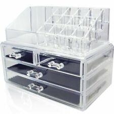 acrylicase® acrylique cosmétiques et bijoux de rangement Organiser Boxs