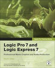Apple Pro Training Series: Logic Pro 7 and Logic Express 7, Sitter, Martin, Good