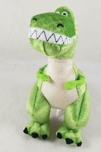 Disney Store Toy Story Rex Mini Bean Bag Plush Dinosaur Stuffed Animal Doll NWOT