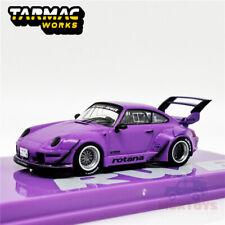 Tarmac Works 1:64 RWB 993 Rotana Purple Diecast Model Car
