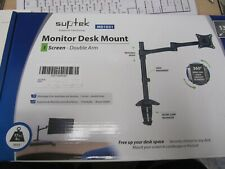 Suptek MD1021 Adjustable Monitor Desk Mount Brand New in Box !!!