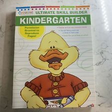 Ultimate Skill Builder Kindergarten Workbook Educational  Homeschool learning