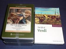 Teaching Co Great Courses  CDs        LIFE and OPERAS of VERDI       new + BONUS