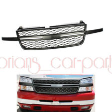 Fit For 2005 2007 Chevy Silverado 2500hd 3500 Front Upper Grill Grille Black Fits 2005 Chevrolet Silverado 2500 Hd Ls