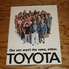 Original 1974 Toyota Full Line Sales Brochure 74 Land Cruiser Mark II Corolla