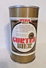 Vintage Spezial Hell Gurten Bier Straight Steel Beer Can Rare old