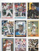 LOT OF 600 BASEBALL CARDS WITH ROBLES ROOKIE,VERDUGO ROOKIE,ICHIRO,GWYNN,DeGROM