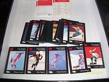1994 SPORTS QUEBEC Espoirs Olympiques d'hiver Quebecois COMPLETE CARD SET 41