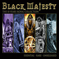 BLACK MAJESTY - The 10 Years Royal Collection Remastered 2CD 2018 Power Metal