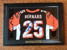 2013 Panini Black GIOVANI BERNARD (Shadow Box)rookie Jersey On Card Autograph/49