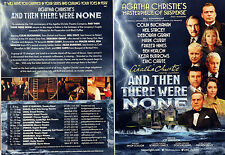 AGATHA CHRISTIE AND THEN THERE WERE NONE THEATRE FLYERS X 2 COLIN BUCHANAN