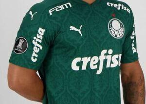 Puma Palmeiras Home 2020 Libertadores Jersey- FutFanatics- New Original
