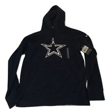 Dallas Cowboys Nike Therma-fit Logo Performance Small Hoody Sweatshirt 8d4740833