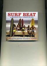 SURF BEAT - DICK DALE VENTURES SURFMEN STRANGERS CHAMPS OUTLAWS - 2 CDS - NEW!!