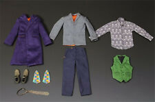Custom Hottoys 1/6 FIGURE Batman Joker clothes suits apparel and accessories set