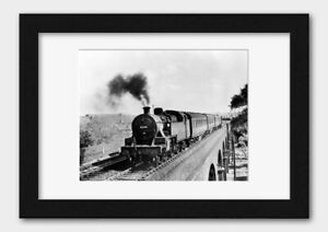 A Leicester based tank engine at Rugby 1964 Poster