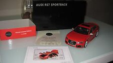Audi rs7 Sport back 1:18 rojo gravitas