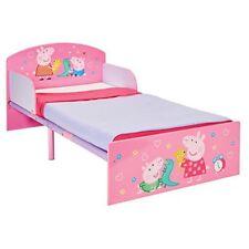 Peppa Pig cama infantil con laterales paneles Junior dormitorio Niños Niñas Rosa