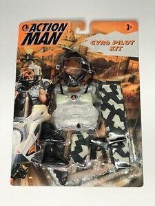 Modern Action Man 1997 Hasbro Gyro Pilot Kit Bubble Lifted Slightly Small Cracks