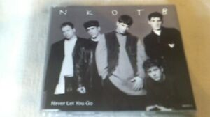 NEW KIDS ON THE BLOCK - NEVER LET YOU GO - 3 TRACK CD SINGLE - NKOTB