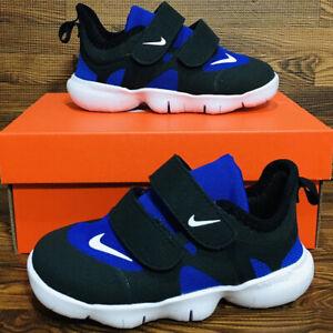 Nike Free Run 5.0 Infant Toddler Athletic Running Sneaker Royal Blue Black Shoe