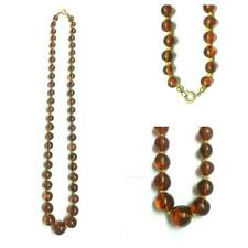 Long Amber Necklace 61 cm Chain Amber Amber Jewelry Necklace