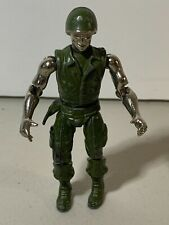 ZYLMEX METAL MAN SERIES - CORPORAL CHROME -Die Cast Metal Figure from Zee Toys 1