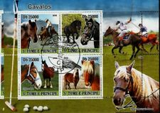 chevaux souvenir feuille CTO ANIMAUX cavalos Polo sports