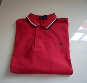 Vintage Fred Perry Red size XL
