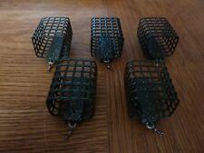5 Futterkörbe Futterkorb (5 x 45 g.) Angelblei Feederkorb Köder Korb
