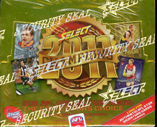 2001 AFL TEAMCOACH TRADING CARD FACTORY BOX (36)-RARE, FIRST TEAMCOACH SERIE S